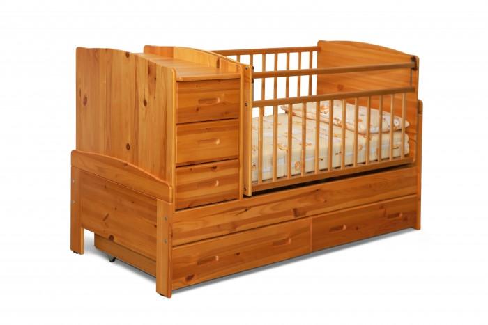 Кроватка-трансформер Noony Wood Chalet поперечный маятник