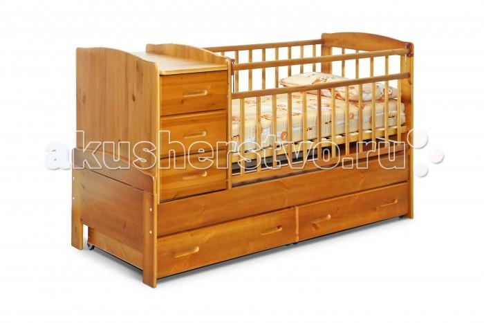 Кроватки-трансформеры Noony Wood Chalet выдвижные кровати для двоих детей