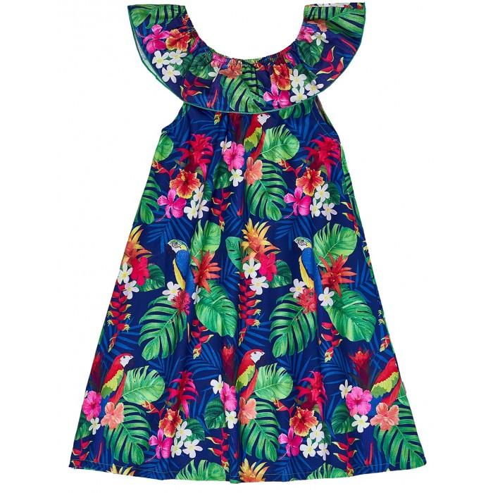Платья и сарафаны Winkiki Сарафан для девочки Тропики WJG91692 классический сарафан rouge
