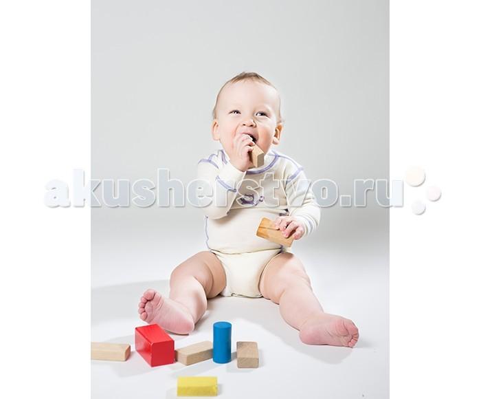 Детская одежда , Боди и песочники Norveg Soft Baby Боди детское с длинным рукавом арт: 368468 -  Боди и песочники