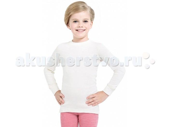 Детская одежда , Футболки и топы Norveg Soft Kids Футболка детская с длинным рукавом арт: 368873 -  Футболки и топы