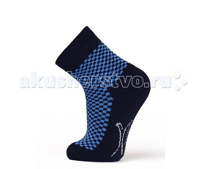 Колготки, носки, гетры Norveg Soft Merino Wool Носки детские в клетку дом в володарском районе