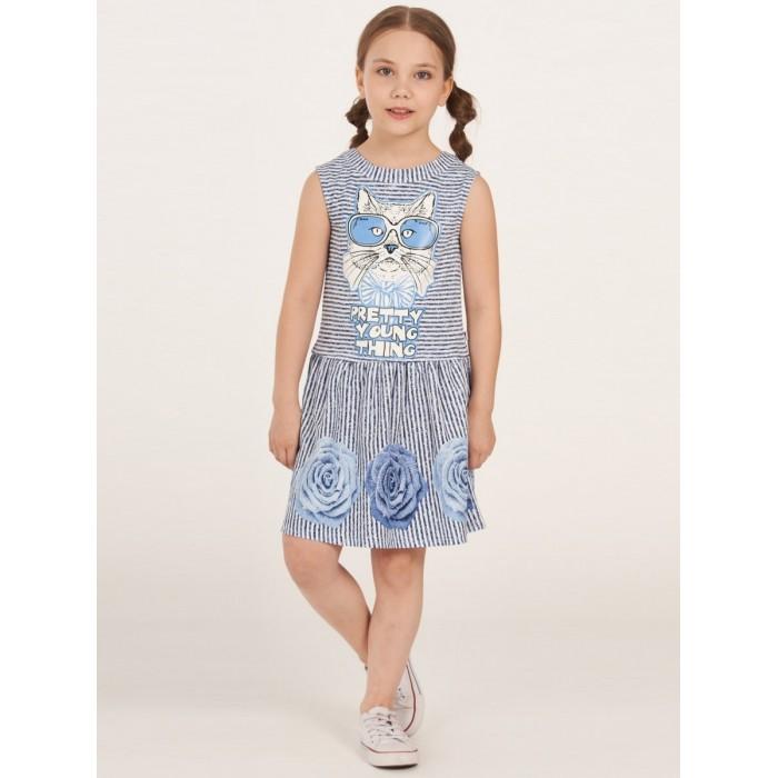Платья и сарафаны Nota Bene Платье для девочки 1л9214203а платье прямого покроя средней длины с капюшоном из велюра