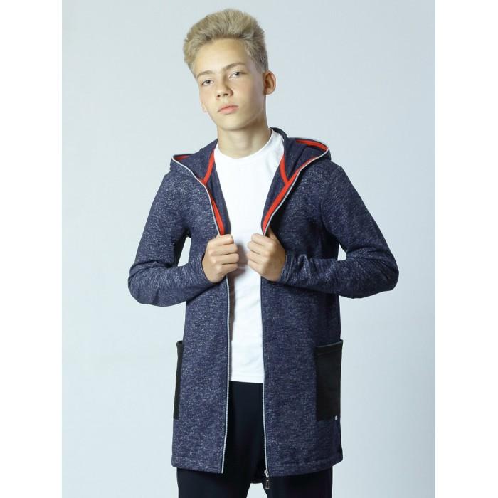 Школьная форма Nota Bene Толстовка для мальчика 192150803 куртка для мальчика с мехом зеленая in extenso