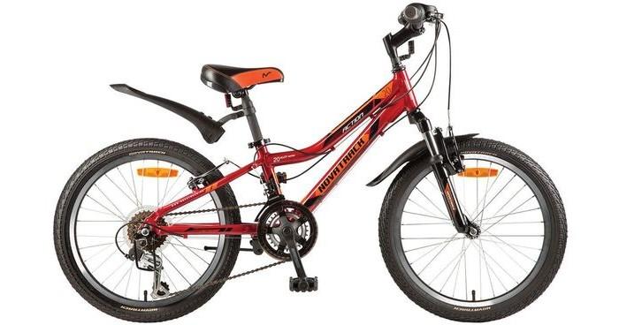 Детский транспорт , Двухколесные велосипеды Novatrack Action 20 12 скоростей арт: 444789 -  Двухколесные велосипеды