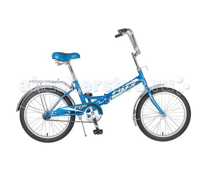 Велосипед двухколесный Foxx FL 20FL 20Велосипед двухколесный Foxx FL 20 отличный выбор средства передвижения по городу и окрестностям.  Особенности: прочная и надёжная стальная рама крылья защитят от брызг и грязи защита цепи обезопасит от попадания элементов одежды в систему складная рама позволит транспортировать велосипед с комфортом и брать его с собой везде багажник для перевозки всяких нужных мелочей ножной тормоз позволит вовремя остановиться в случае необходимости Размер колес 20 Количество скоростей 1 Материал рамы Сталь Тип тормозов Ножной<br>