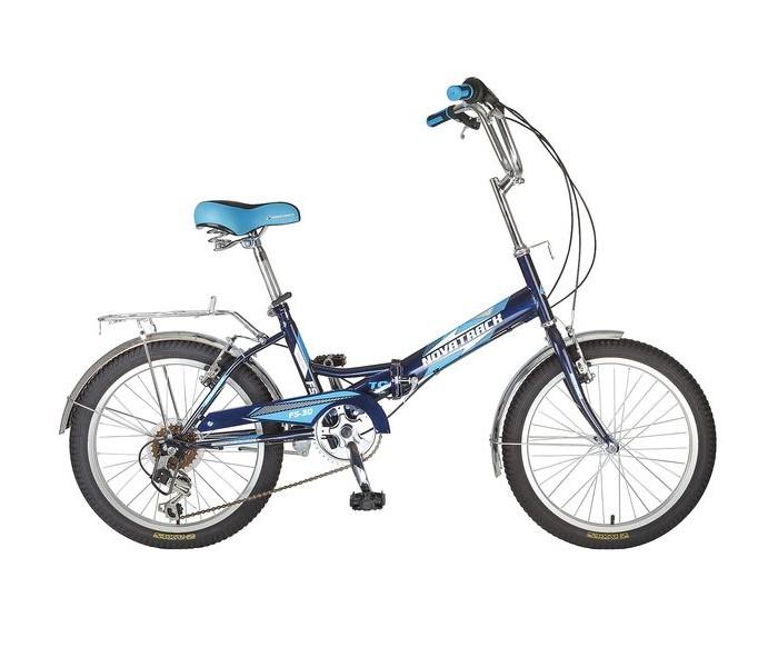 Купить Двухколесные велосипеды, Велосипед двухколесный Novatrack FS-30 20 6 скоростей