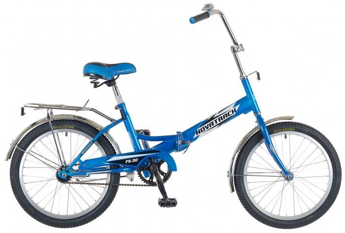 Велосипед двухколесный Novatrack FS-30 20FS-30 20Велосипед двухколесный Navatrack FS-30 20 это складной подростковый велосипед, рассчитанный на ребят 7-14 лет, который отличается неприхотливостью, хорошей управляемостью и практичностью.   Стальная рама может складываться, и тем самым компактно разместиться на балконе, в стенном шкафу или багажнике автомобиля. Стоит отметить широкий диапазон регулировки высоты сидения и руля, благодаря чему велосипед универсален и подойдет для ребят различного роста. Торможение осуществляется ножным тормозом, который работает при любых условиях. Велосипед оснащен хромированными крыльями, широким багажником, защитным кожухом цепи, подножкой и светоотражателями.   Особенности: Количество скоростей: 1 Диаметр колес: 20 Материал рамы: Алюминий  Обода: алюминиевые Вес: 15 Возраст: 7-14 Багажник: Установлен Защита: F-тип Крылья: Сталь<br>