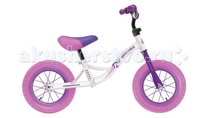 Купить Беговелы, Беговел Novatrack Magic 12 надувные колеса