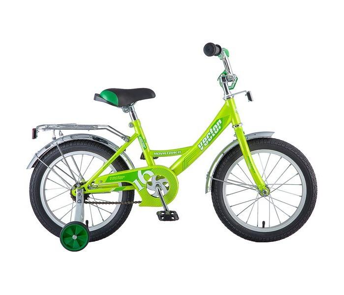 Двухколесные велосипеды Novatrack Vector 16 novatrack novatrack велосипед vector 16 зеленый