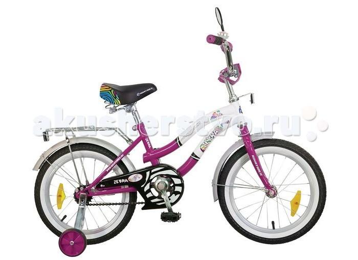 Велосипед двухколесный Novatrack Zebra 20Zebra 20Велосипед двухколесный Novatrack Zebra 20 это надежный велосипед для ребят от 7 до 10 лет.   Данная модель специально разработана для начинающих велосипедистов: дополнительные колеса, которые можно будет снять, когда ребенок научится держать равновесие, блестящий багажник для перевозки игрушек, надежный ножной тормоз, защита цепи от попадания одежды в механизм - все это сделает каждую поездку юного велосипедиста комфортной и безопасной.   Маленькому велосипедисту, будь то мальчик или девочка, обязательно понравятся блестящий звонок и зеркальце заднего вида, которые установлены на руле велосипеда. Высота сидения и руля регулируются, поэтому велосипед прослужит ребенку не один год.  Особенности: Количество скоростей: 1 Диаметр колес: 20 Материал рамы: Сталь Вилка: жесткая Пол: для девочек Обода: алюминиевые Вес: 11.6 кг Возраст: 7-10 Багажник: Установлен Защита: А-тип<br>