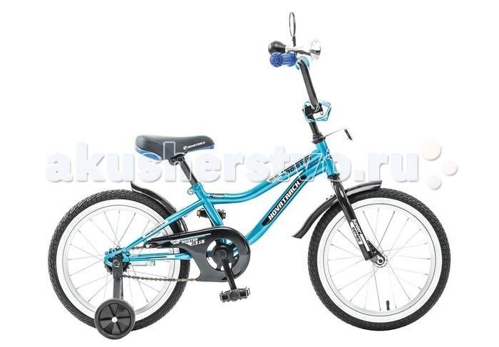 Детский транспорт , Двухколесные велосипеды Novatrack Boister 16 арт: 321014 -  Двухколесные велосипеды