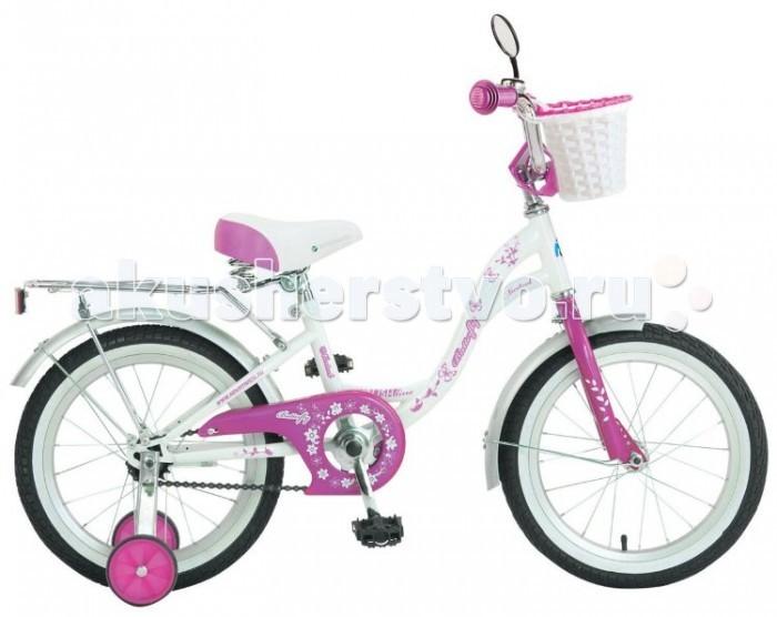 Детский транспорт , Двухколесные велосипеды Novatrack Butterfly 14 арт: 320629 -  Двухколесные велосипеды
