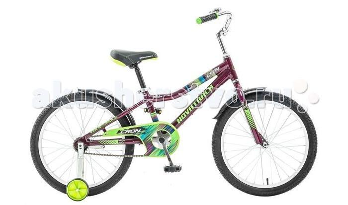 Велосипед двухколесный Novatrack Cron 20Cron 20Велосипед двухколесный Novatrack Cron 20 - является отличной моделью, оснащенной по последним требованиям безопасности. Многоразовые тестирования показали, что тормозная система на нем срабатывает надежно. Именно ножной тормоз считается оптимальным для тех, кто только учится управлять велосипедом. В экстренной ситуации ребенку проще использовать задний ножной тормоз.  Особенности: Велосипед отличается установленной защитой цепи, прекрасно сочетающейся с общим дизайном транспортного средства, и съемными дополнительными колесами, которые помогут начинающему велосипедисту чувствовать себя увереннее.  Велосипед имеет яркую и оригинальную окраску. Стильные, укороченные крылья придают модели дополнительный шарм и уникальность.  Рама выполнена из высокопрочного алюминия, благодаря чему модель очень комфортна при езде. К тому же, благодаря легкости сплава, велосипед удобно переносить вручную. А по критериям надежности и долговечности алюминий не уступает другим, более тяжелым металлам.  Конструкция велосипеда предусматривает упрощенное сиденье, высота которого регулируется в соответствии с ростом его владельца при помощи надежного фиксатора. Так же легко, как и сиденье, регулируются высота и наклон руля. Диаметр колес: 20<br>