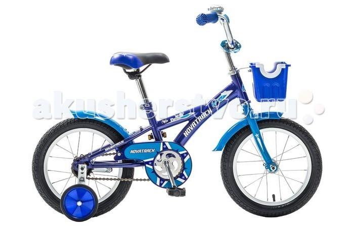 Двухколесные велосипеды Novatrack Delfi 14 детский велосипед novatrack delfi 14 2015 blue