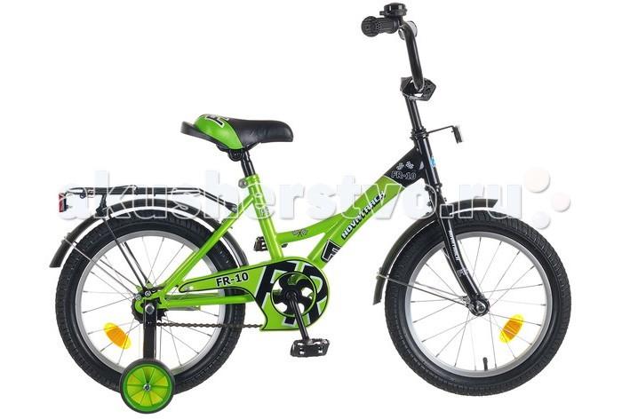 Детский транспорт , Двухколесные велосипеды Novatrack FR-10 16 арт: 321274 -  Двухколесные велосипеды