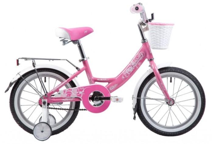 Велосипед двухколесный Novatrack Girlish line 16Girlish line 16Велосипед двухколесный Novatrack Girlish line 16 прекрасно подойдет для малыша, который любит активно проводить время. Крепкая стальная рама обеспечивает высокий уровень безопасности для ребенка. Для комфортных поездок по сложной трассе либо по пересеченной местности велосипед оборудован двумя дополнительными съемными колесами, благодаря которым маленький наездник будет чувствовать себя увереннее. Ножной тормоз позволит быстро затормозить в случае необходимости. А крылья в цвет велосипеда защитят ребенка от брызг во время езды.<br>