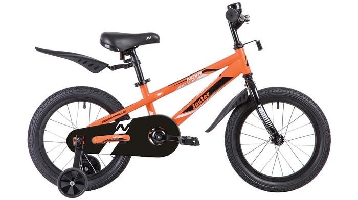 Велосипед двухколесный Novatrack Juster 16Juster 16Велосипед двухколесный Novatrack Juster 16 прекрасно подойдет для малыша, который любит активно проводить время. Крепкая стальная рама обеспечивает высокий уровень безопасности для ребенка. Для комфортных поездок по сложной трассе либо по пересеченной местности велосипед оборудован двумя дополнительными съемными колесами, благодаря которым маленький наездник будет чувствовать себя увереннее. Ножной тормоз позволит быстро затормозить в случае необходимости. А крылья в цвет велосипеда защитят ребенка от брызг во время езды.<br>