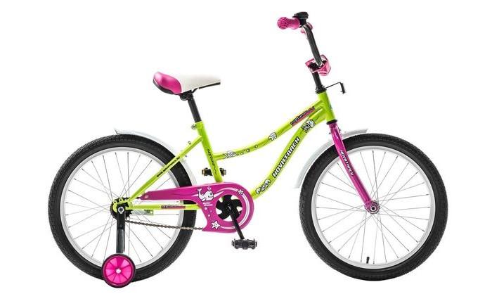 Двухколесные велосипеды Novatrack Neptun 20 детский велосипед для девочек novatrack neptun 14 green