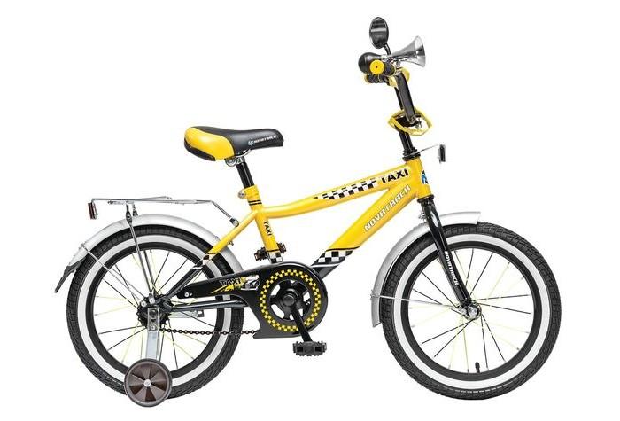 Двухколесные велосипеды Novatrack Такси R 16