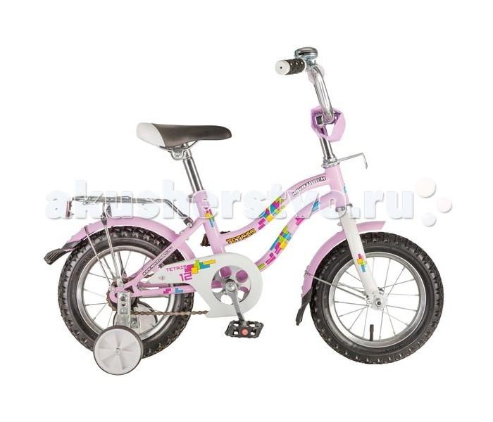 Велосипед двухколесный Novatrack Tetris 12Tetris 12Велосипед двухколесный Novatrack Tetris 12 прекрасно подойдет для малыша, который любит активно проводить время. Крепкая стальная рама обеспечивает высокий уровень безопасности для ребенка. Для комфортных поездок по сложной трассе либо по пересеченной местности велосипед оборудован двумя дополнительными съемными колесами, благодаря которым маленький наездник будет чувствовать себя увереннее. Ножной тормоз позволит быстро затормозить в случае необходимости. А крылья в цвет велосипеда защитят ребенка от брызг во время езды.<br>