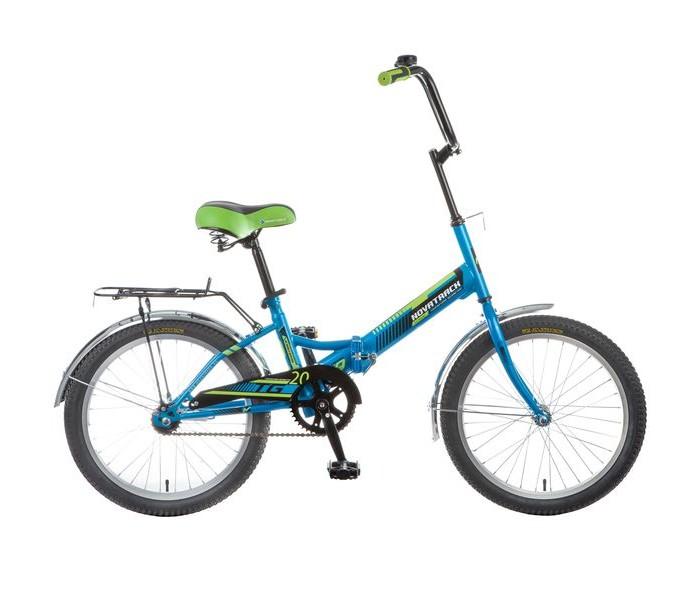 Двухколесные велосипеды Novatrack TG20 складной 20