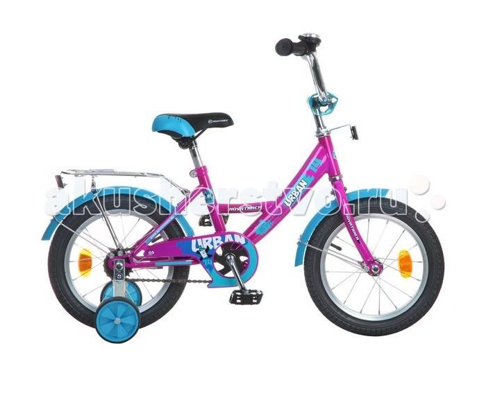 купить Двухколесные велосипеды Novatrack Urban 14 недорого