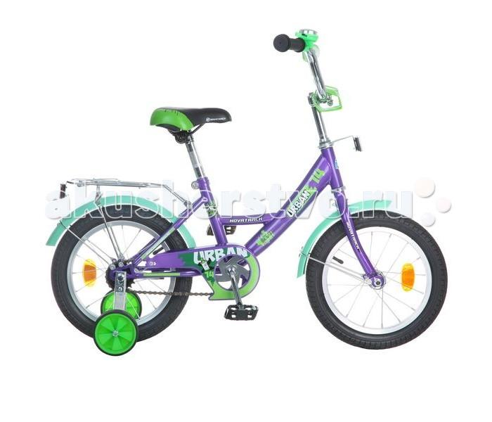 Двухколесные велосипеды Novatrack Urban 14