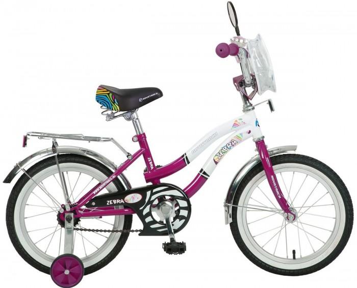 Детский транспорт , Двухколесные велосипеды Novatrack Зебра 16 Z арт: 321114 -  Двухколесные велосипеды