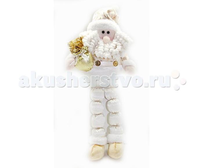 Игровые фигурки Новогодняя сказка Кукла Дед Мороз сидячий 43 см