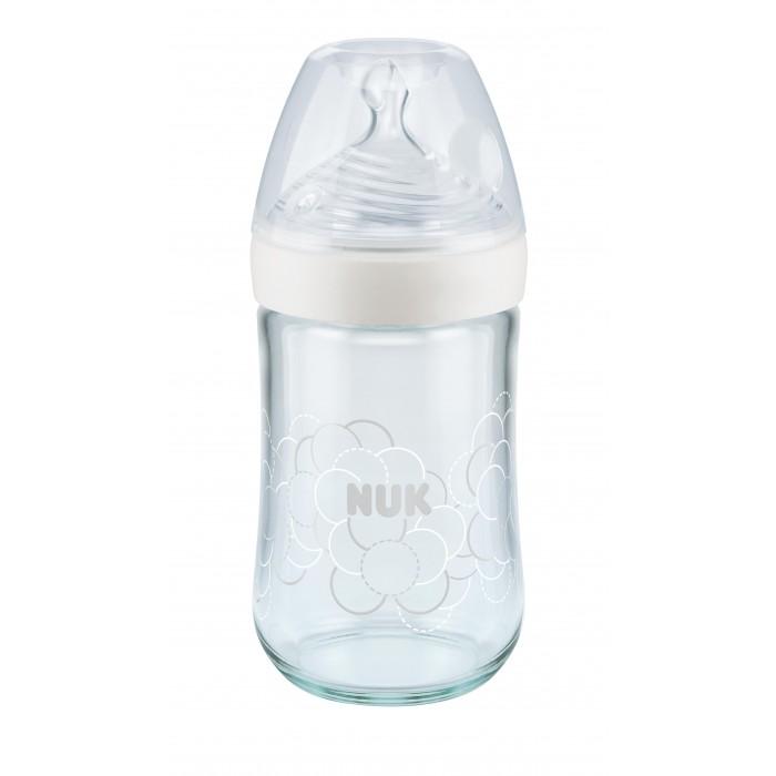Купить Бутылочки, Бутылочка Nuk для кормления антиколиковая силиконовая соска 0 мес. 240 мл