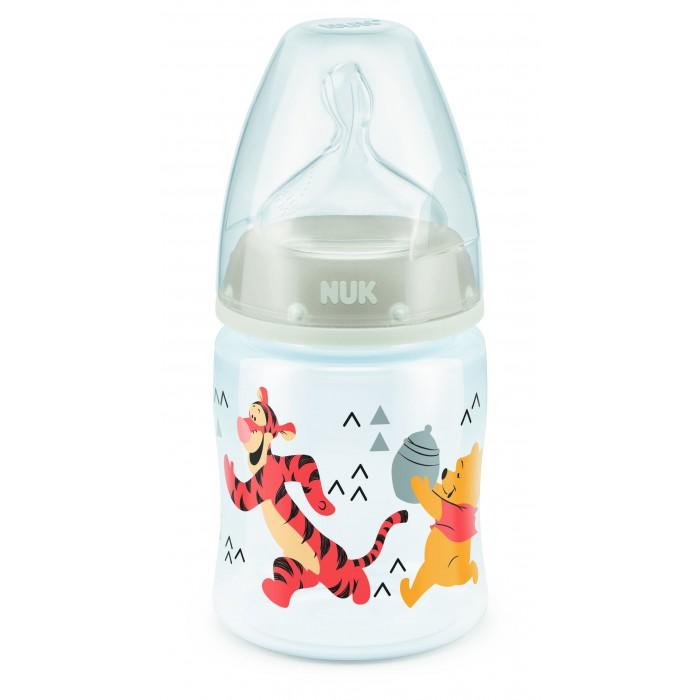 Бутылочки Nuk First Choice Disney пластик 150 мл силиконовая соска M размер 1