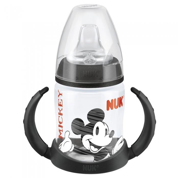 Поильники Nuk First Choice Disney пластик 150 мл с силиконовой насадкой Микки Маус nuk first choice пластик 150 мл с силиконовой насадкой
