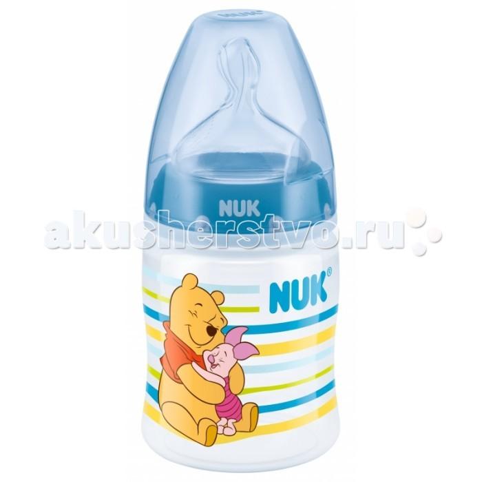Бутылочки Nuk First Choice Plus Disney с силиконовой соской M с рождения 150 мл (пластик)