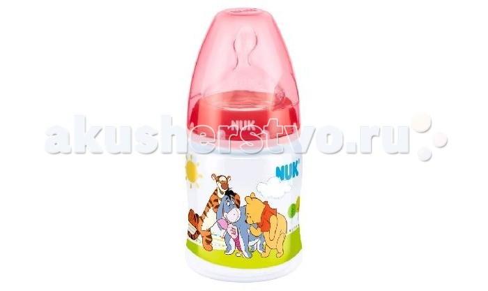 Бутылочка Nuk First Choice Plus Disney с силиконовой соской M с рождения 150 мл (пластик)