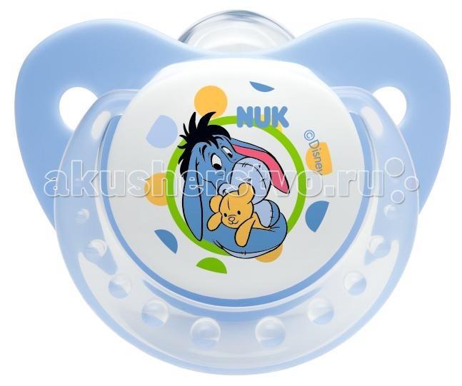 Пустышки Nuk ортодонтическая силиконовая Trendline Disney, размер 1 (0-6 мес.) bebe confort пустышки латексные classic dummies 6 12 мес 2 шт