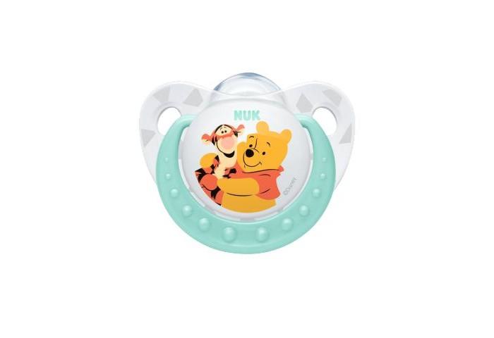 Пустышки Nuk ортодонтическая силиконовая Trendline Disney, размер 2 (6-18 мес.) нук пустышка trendline disney силиконовая р 2