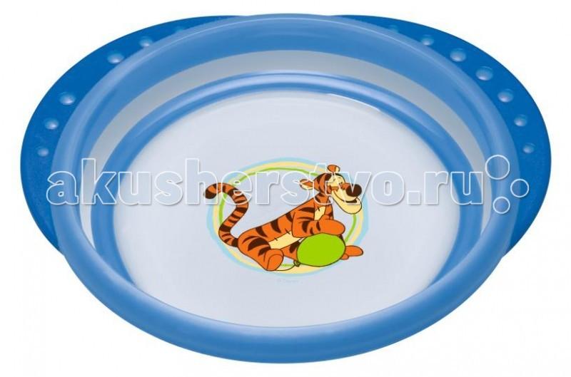 Посуда Nuk Тарелка с крышкой Easy Learning Disney nuk тарелка