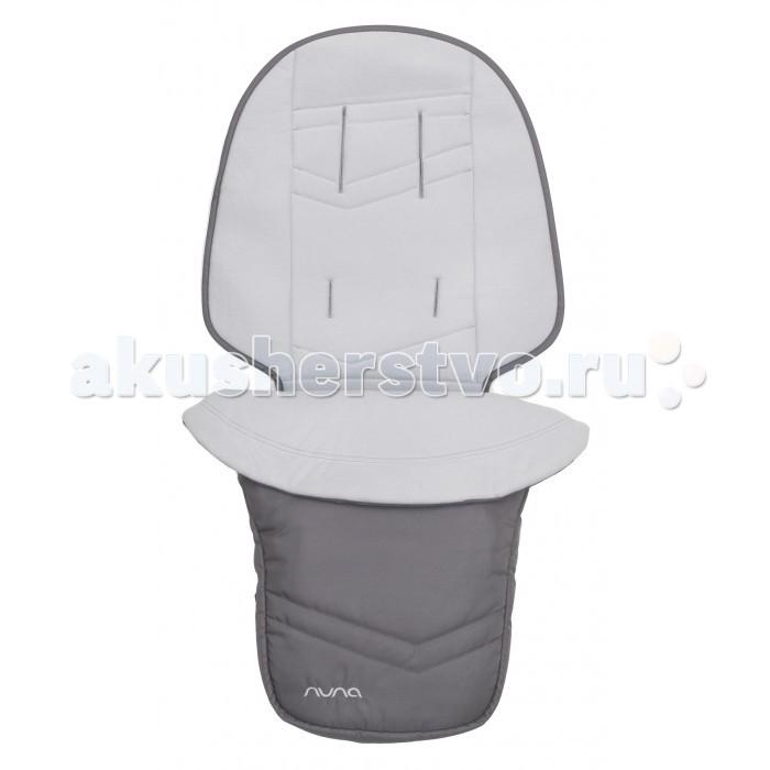 Демисезонные конверты Nuna Dual Footmuff Seat Liner для Ivvi nuna адаптер для установки автокресла nuna car seat adapter на коляски pepp pepp luxx