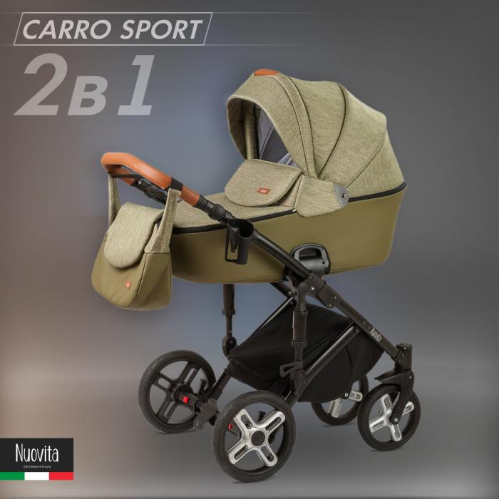 Детские коляски , Коляски 2 в 1 Nuovita Carro Sport 2 в 1 арт: 541251 -  Коляски 2 в 1