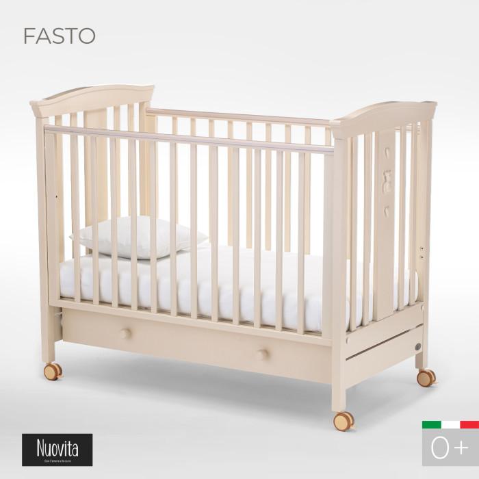 Детская кроватка Nuovita Fasto маятник продольный