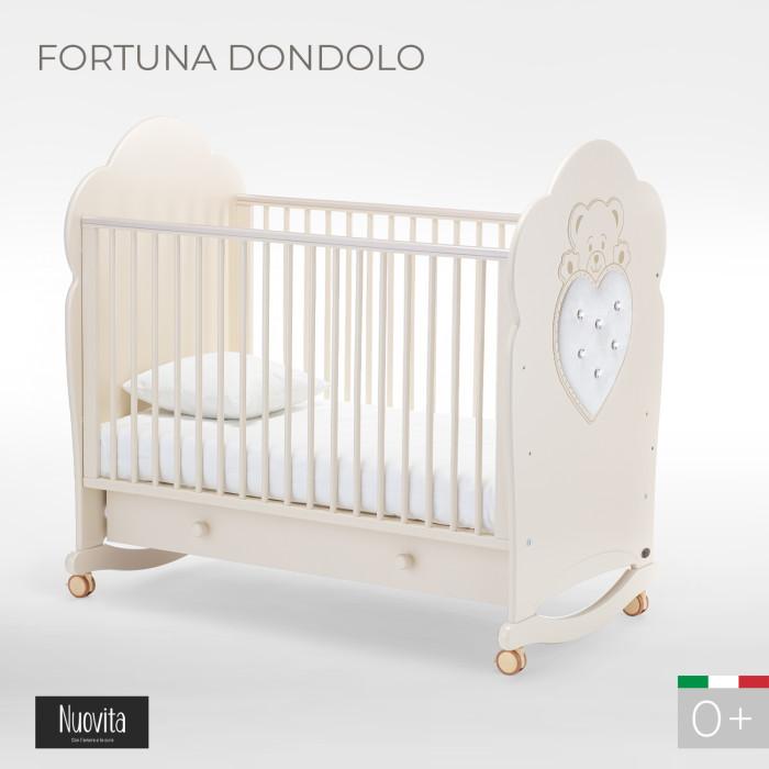 Детская кроватка Nuovita Fortuna dondolo качалка