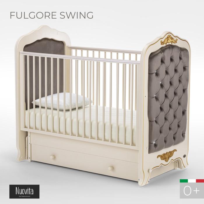 Детские кроватки Nuovita Fulgore swing (поперечный маятник)