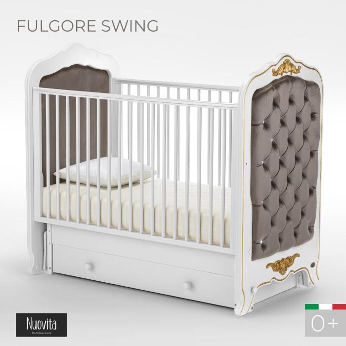 Детские кроватки Nuovita Fulgore swing (поперечный маятник) детские кроватки sweet baby ennio маятник поперечный