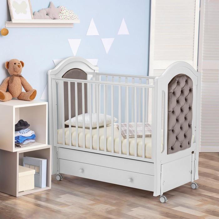 Детские кроватки Nuovita Grazia swing (продольный маятник)