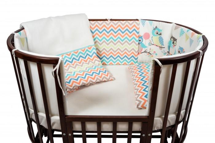 Комплекты в кроватку Nuovita Gufi (6 предметов) комплекты в кроватку esspero king 6 предметов