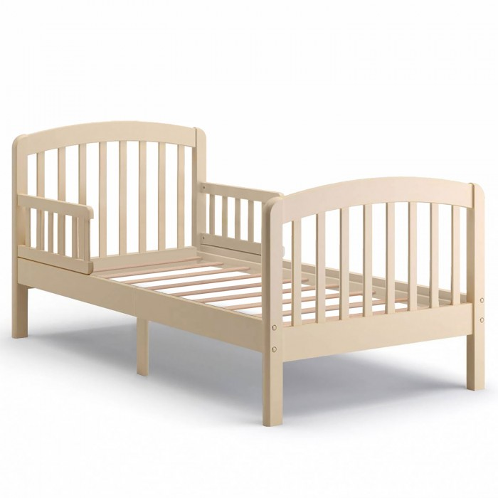Детская кроватка Nuovita  IncantoIncantoДетская кроватка Nuovita Incanto выполнена из натурального дерева бука и окрашена водорастворимыми эмалями, которые безопасны для здоровья детей.   С обеих сторон конструкции расположены реечные бортики, которые оберегают ребенка от падения во время сна. Долговечность изделия обеспечивает высококачественная фурнитура. Прочное деревянное основание и устойчивые ножки предотвращают его расшатывание или опрокидывание во время веселых детских забав.  Особенности: возраст: от 3 до 16 лет экологичный, люксовый материал — натуральный бук покрытие нанесено нетоксичными ЛКМ на водорастворимой основе изящные решетчатые спинки в итальянском стиле съемные защитные бортики по бокам деревянное основание прочные прямые ножки применение первоклассных итальянских крепежей обеспечивает долговечность конструкции мебель соответствует нормам качества ЕЭС.<br>