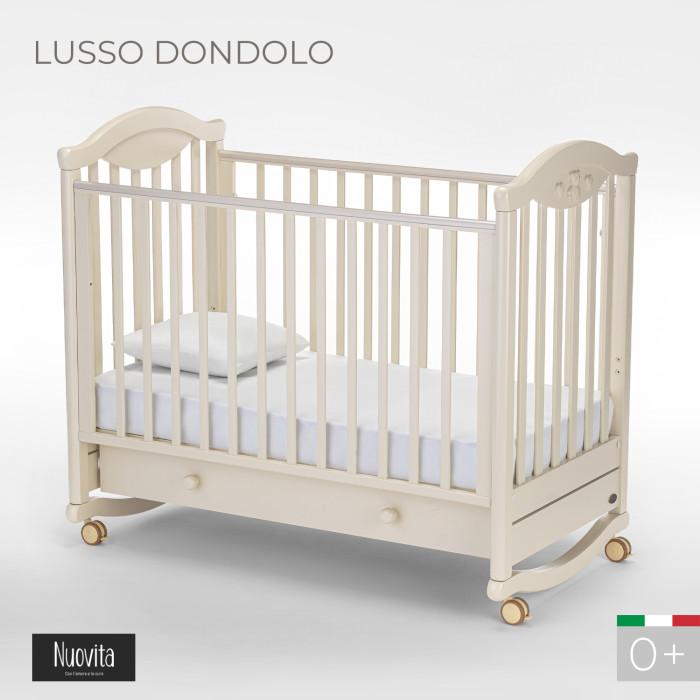 Детская кроватка Nuovita Lusso dondolo качалка