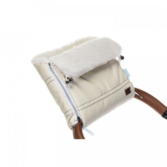 Купить Муфты для рук, Nuovita Муфта меховая для коляски Alpino Lux Bianco