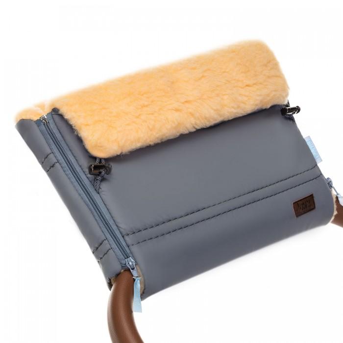 Муфты для рук, Nuovita Муфта меховая для коляски Alpino Pesco  - купить со скидкой